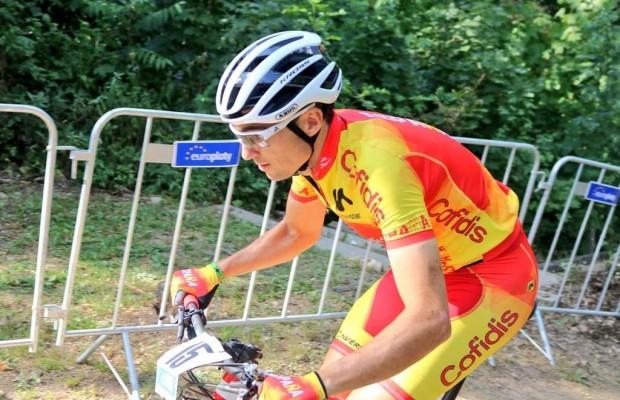 Mantecón muestra el circuito del Campeonato de Europa desde su bici