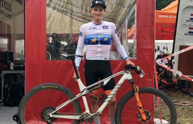 La Canyon Lux CF con la que Van der Poel ha ganado el Campeonato de Europa 2019
