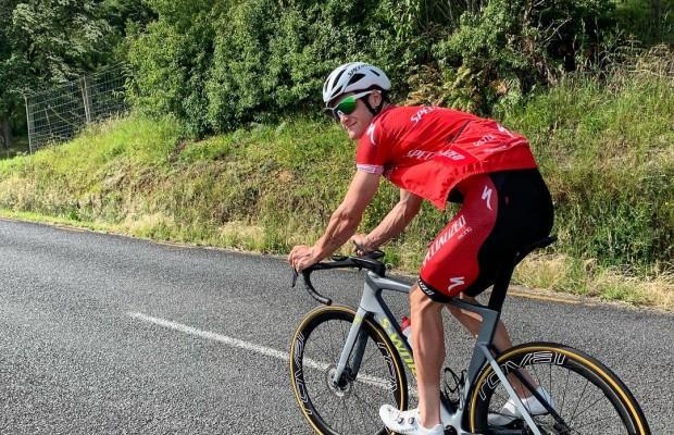 Samuel Gaze se pasa al ciclismo profesional de carretera con el Quick-Step