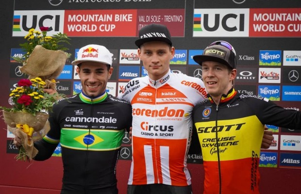 Van der Poel wins the Short Track at the Val Di Sole World Cup