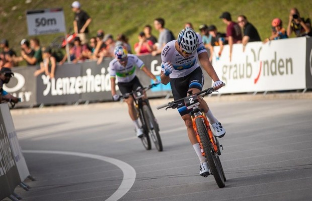 Van der Poel wins the Lenzerheide Short Track