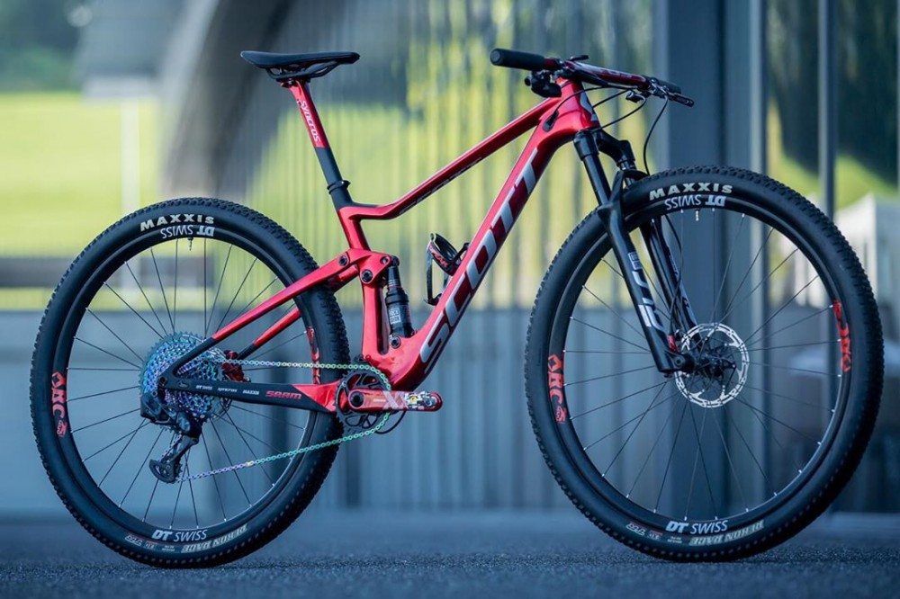 Nino Schurter S New Scott Spark Bike For The World