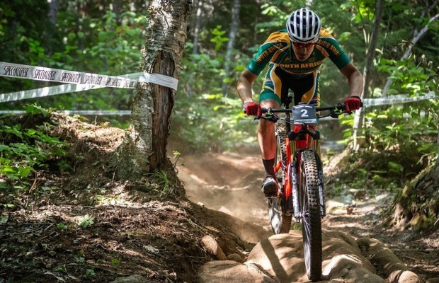 Alan Hatherly and Natalie Schneitter are the first E-MTB World Champions in history