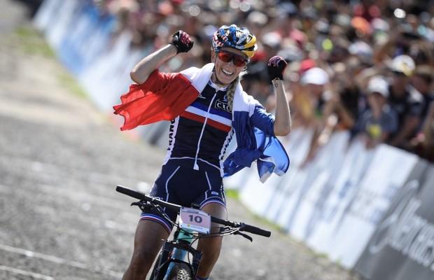 Pauline Ferrand Prevot Campeona del Mundo XCO 2019