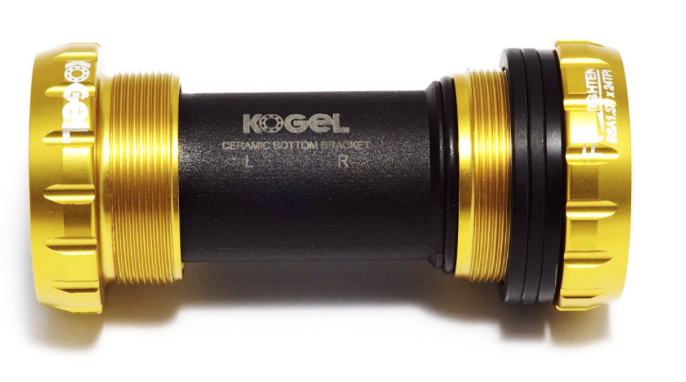 Kogel eje pedalierdorado