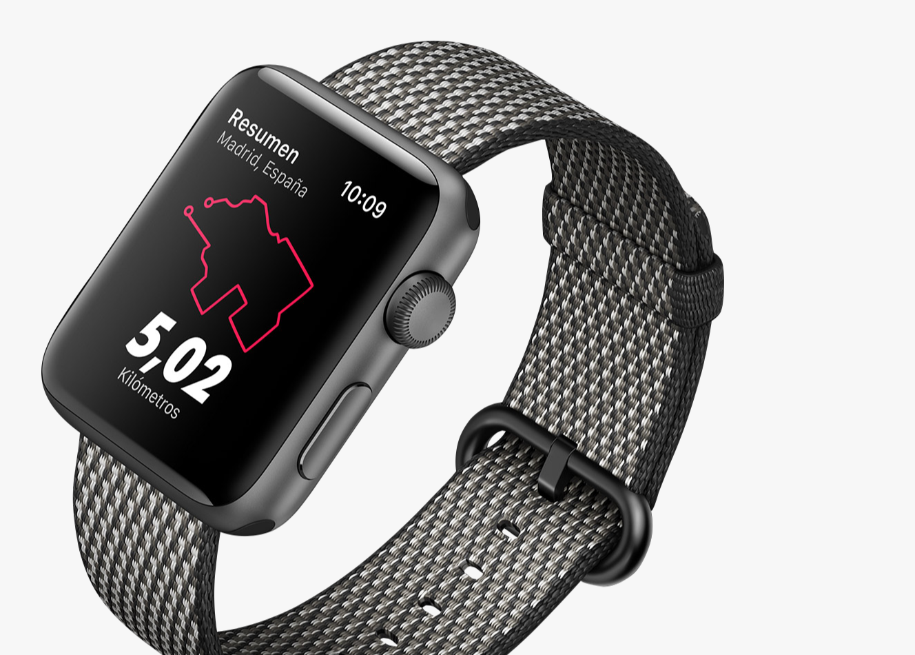 Apple Watch 3 mountain bike