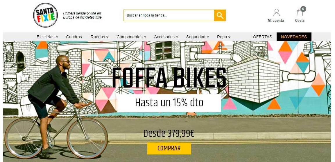 Tiendas online de ciclismo