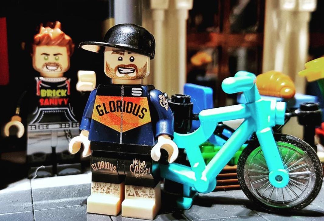 ciclista LEGO