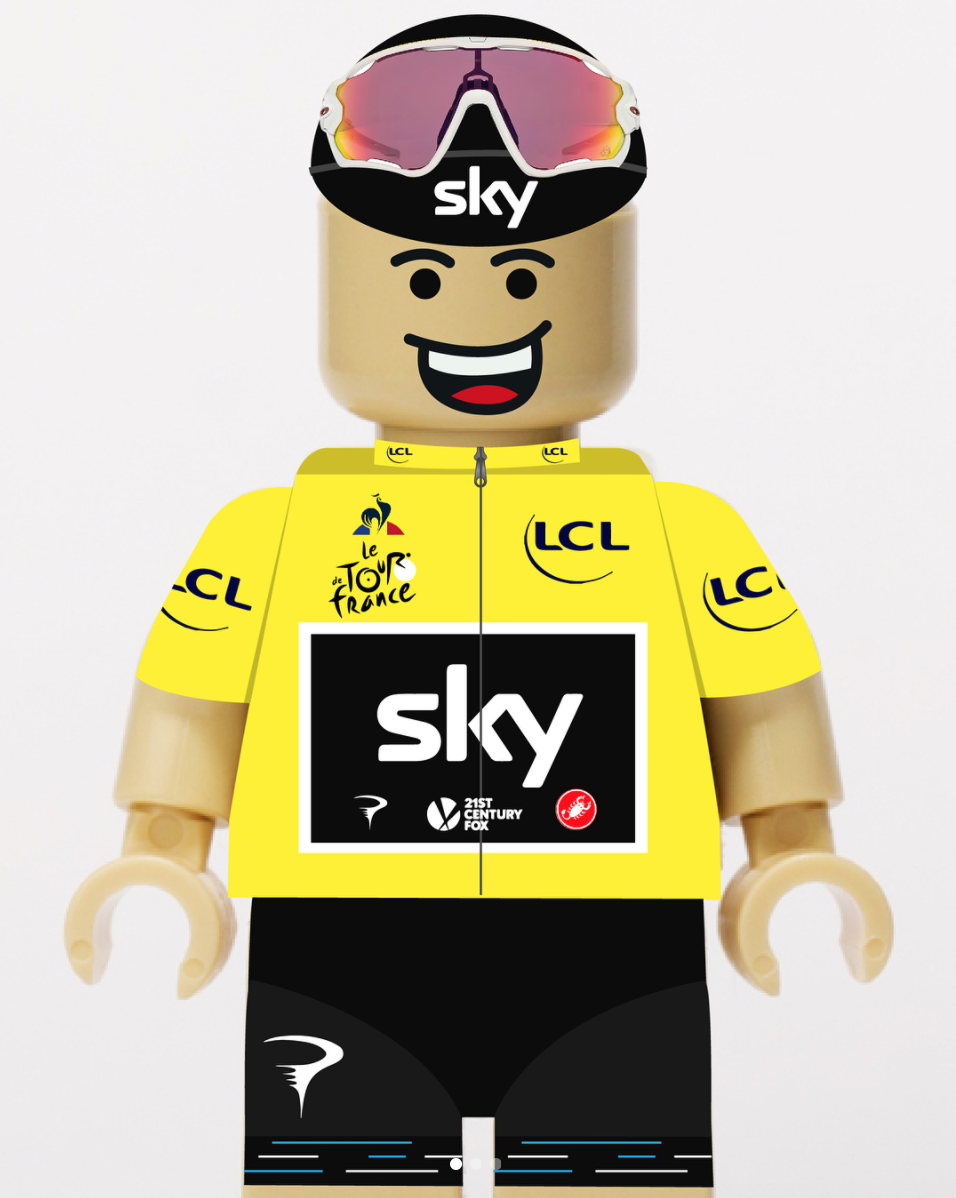 Chris Froome LEGO