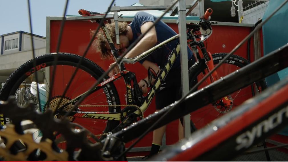 limpiar mountain bike