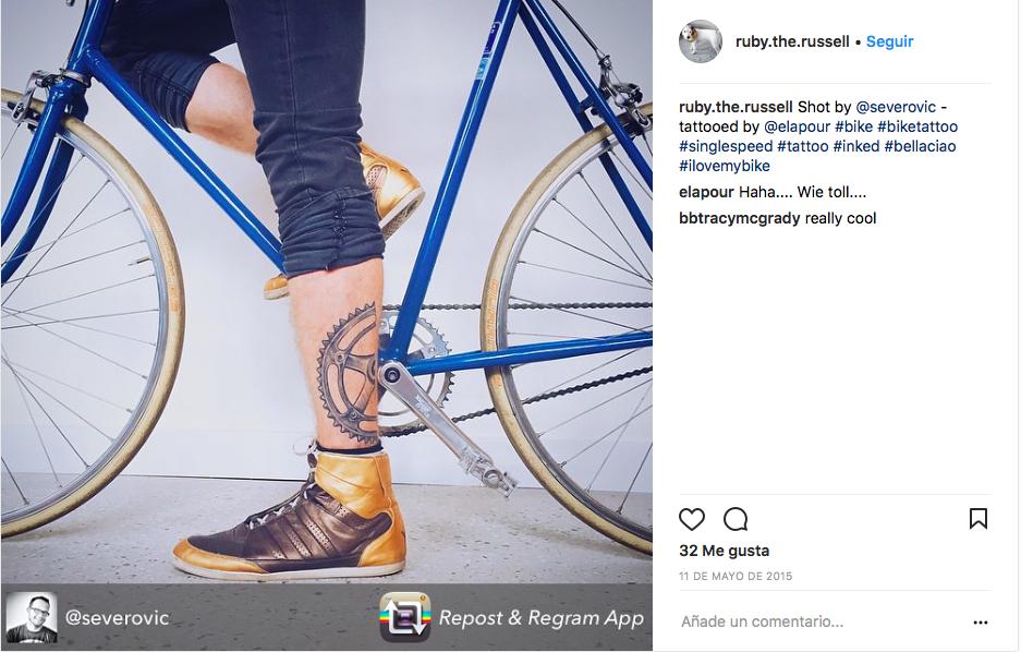 tatuajes de ciclismo