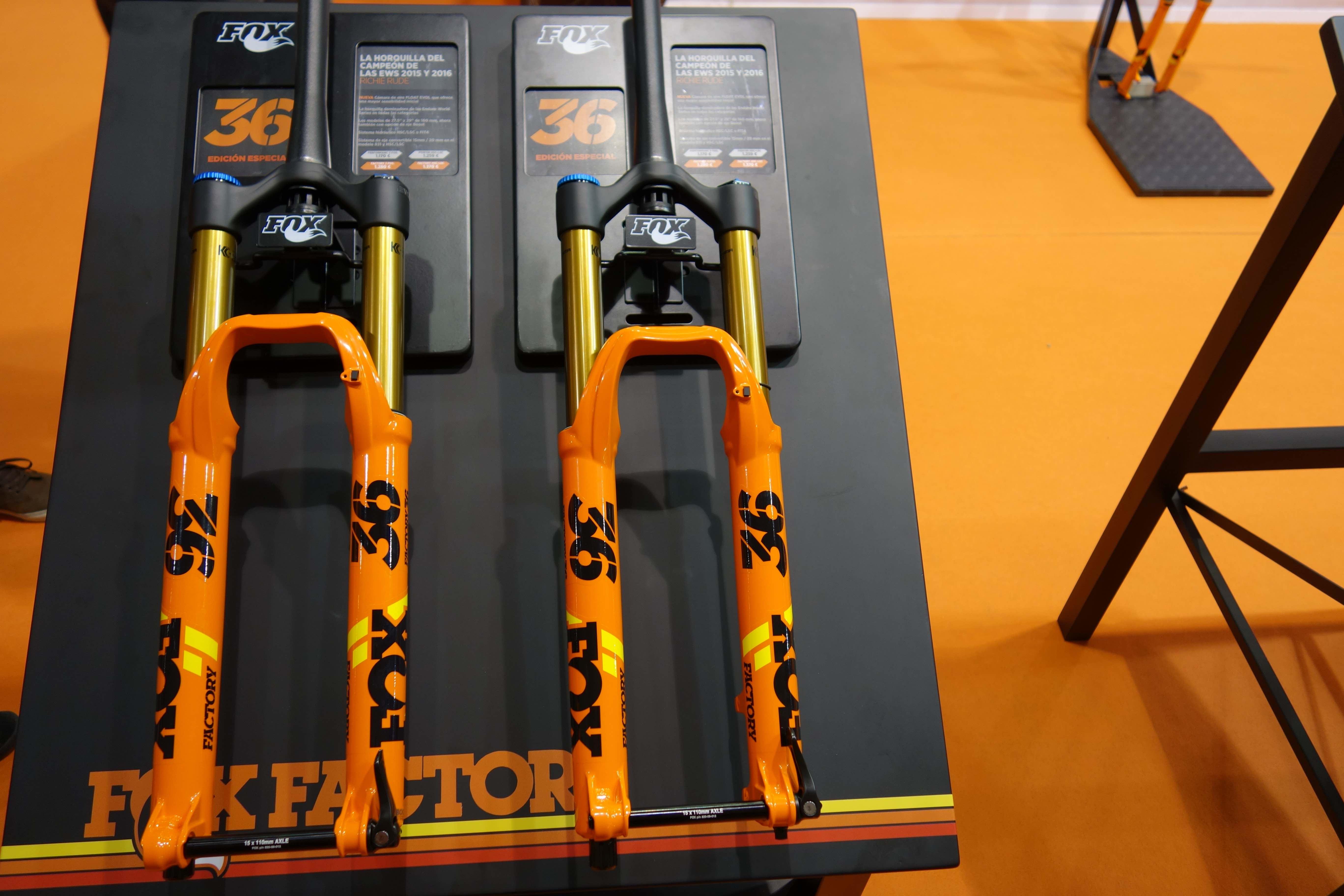 Horquilla Fox 36 Naranja