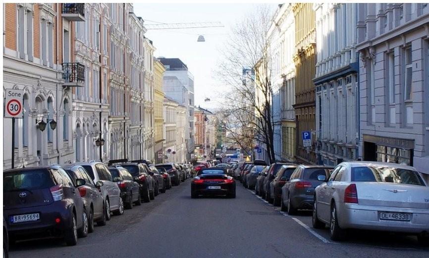 Oslo aparcamientos