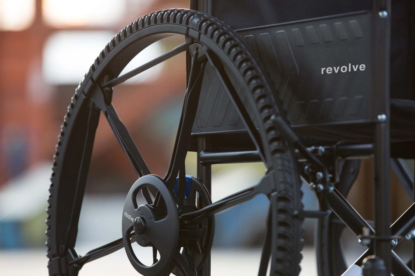 Revolve rueda plegable