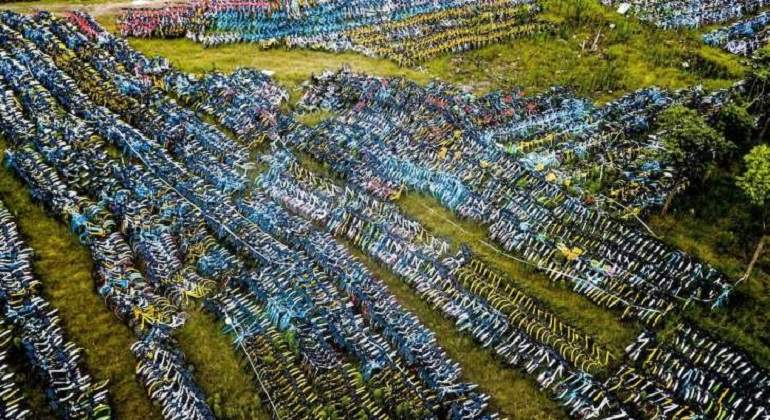 Cementerio de bicis