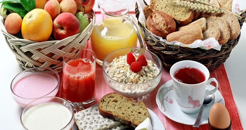 desayuno de ciclista