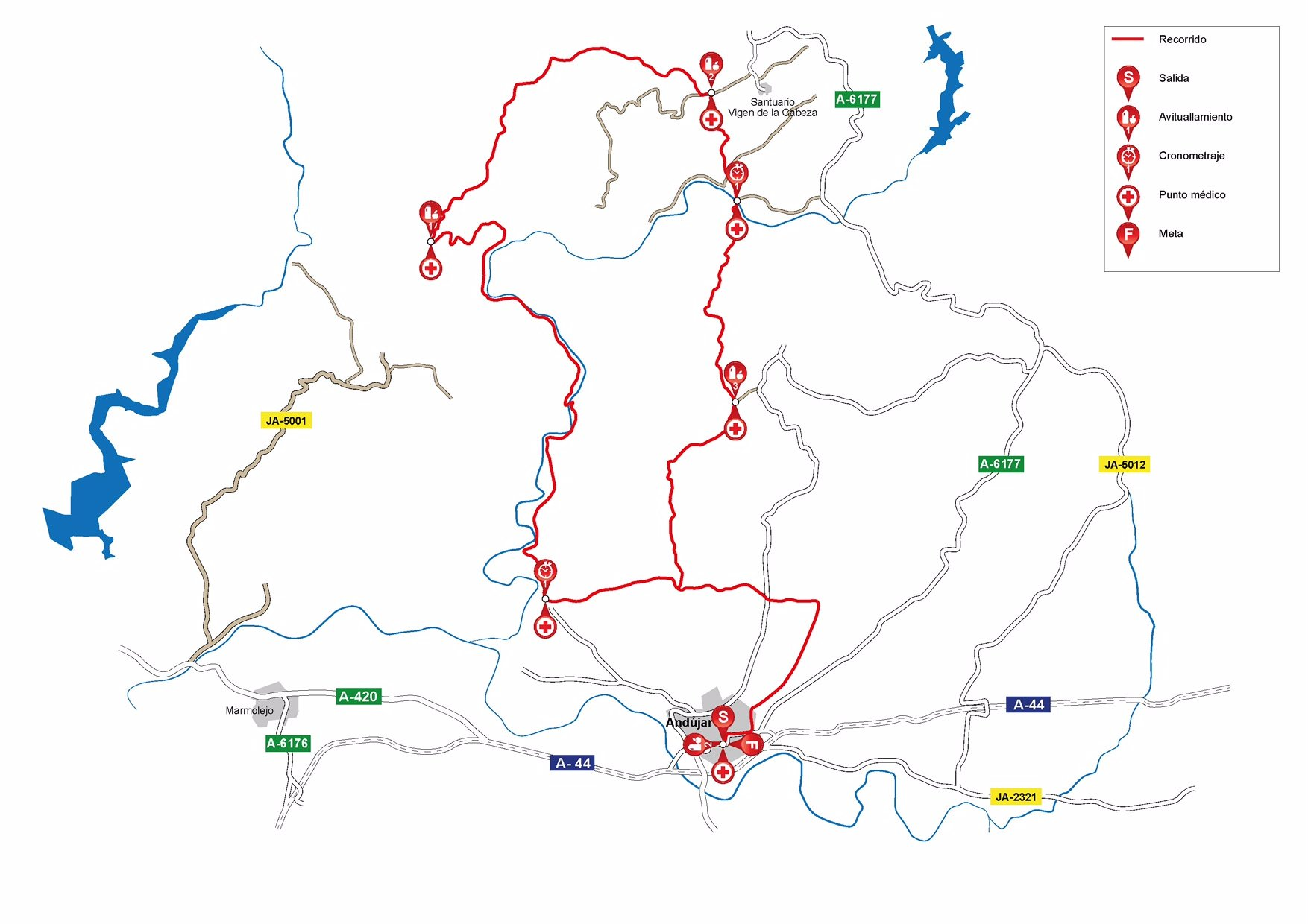 etapa 3 Andalucía bike race perfil
