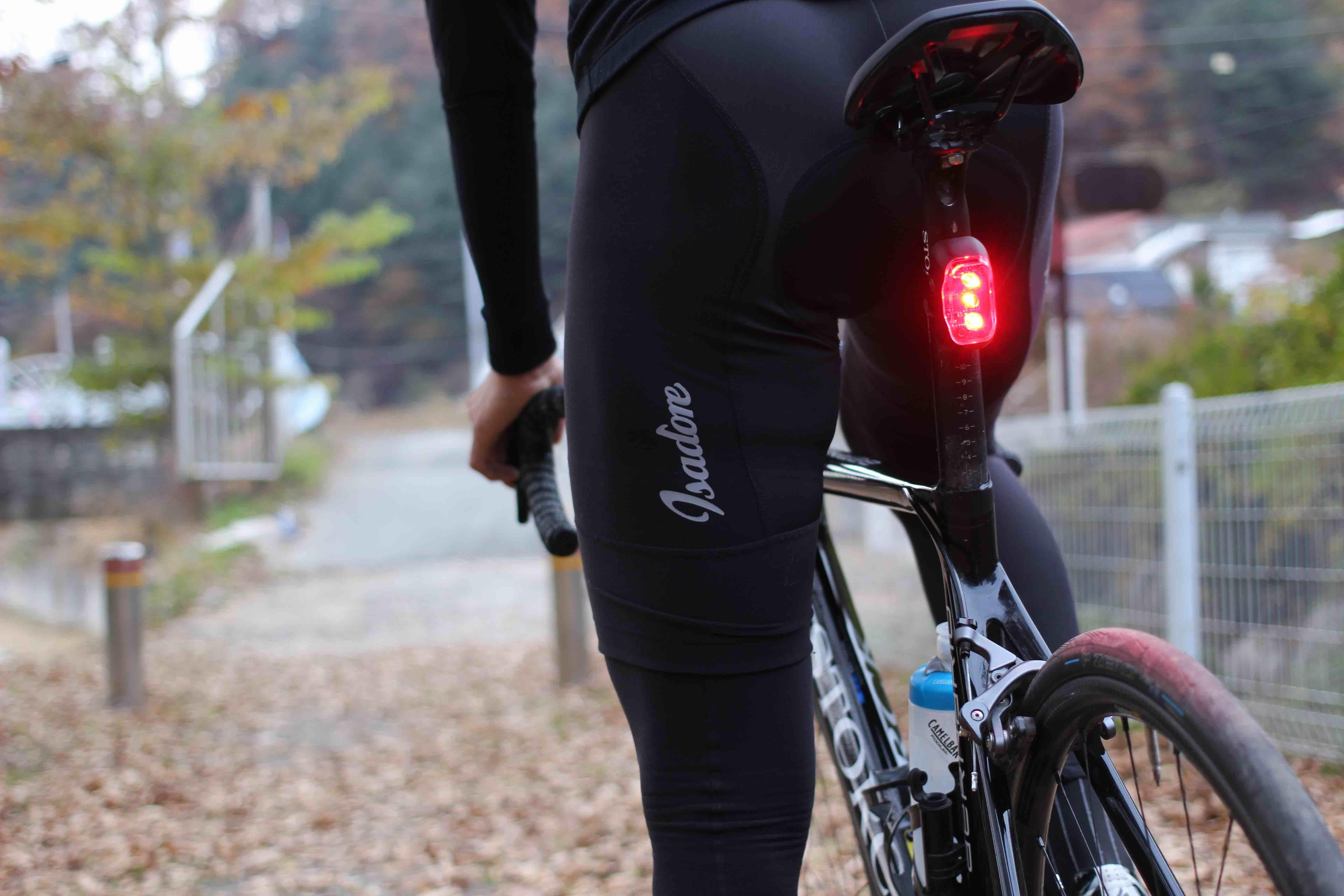 luz de freno ciclismo rayo