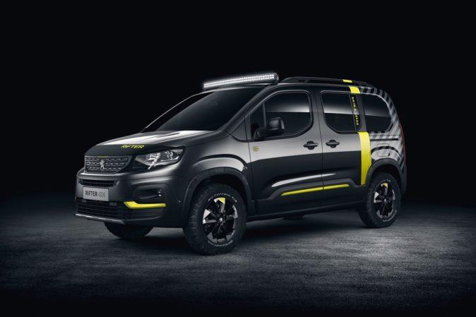 Peugeot Rifter 4x4, Peugeot eM02 FS Powertube