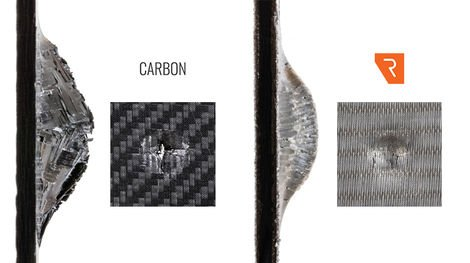 REIN4CED, Fibra de carbono combinada con acero