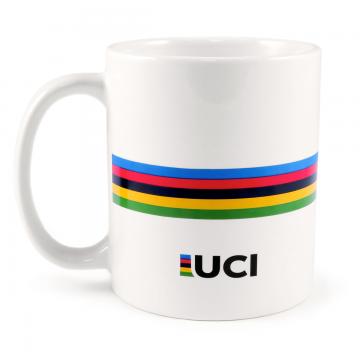 taza café UCI arcoiris