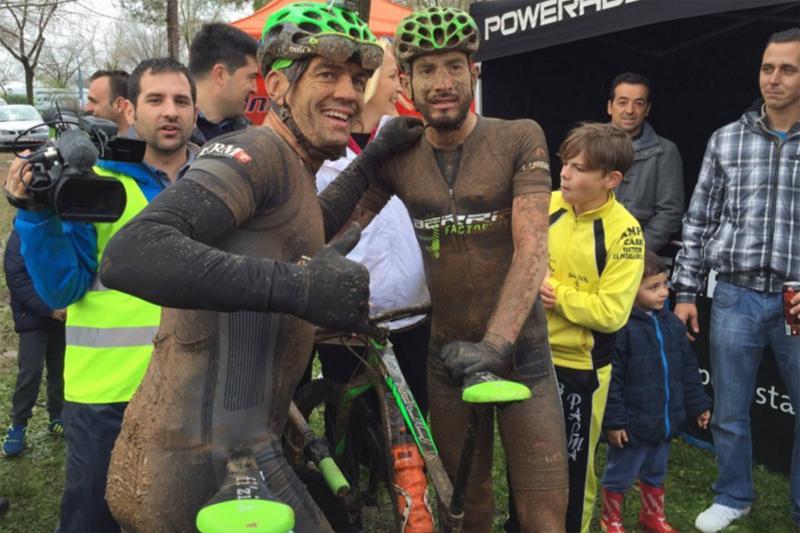 Trujillo y Fernández ganan a los rivales y al tiempo en la 3ª Vuelta a Cordoba