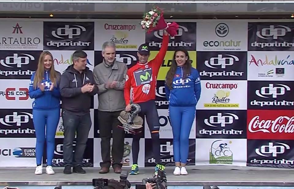 Alejandro Valverde conquista la Vuelta Andalucía en Peñas Blancas