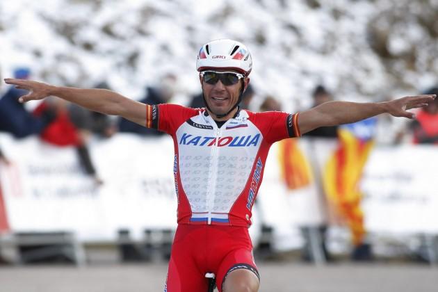 Una fuerte infección de garganta aparta a Joaquim Rodriguez de la Vuelta al Algarve