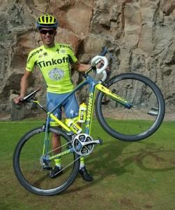 Alberto Contador Tinkoff Saxo