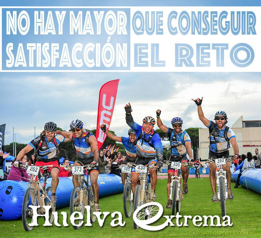 Huelva extrema 2016, 175 km por un entorno increíble