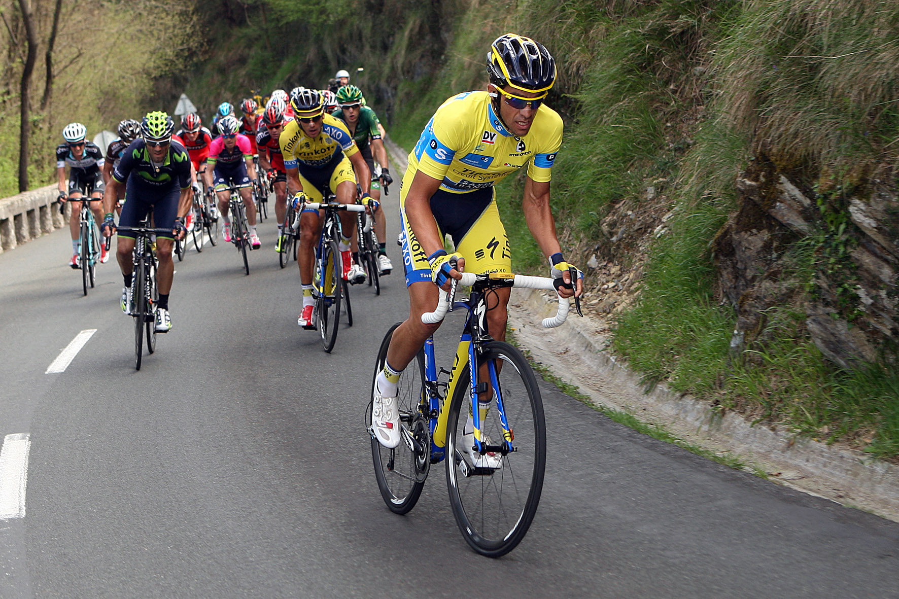 Contador, Aru y Quintana favoritos en la vuelta al País Vasco 2016