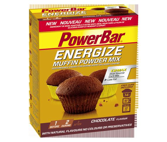 Muffin energéticos de Powerbar