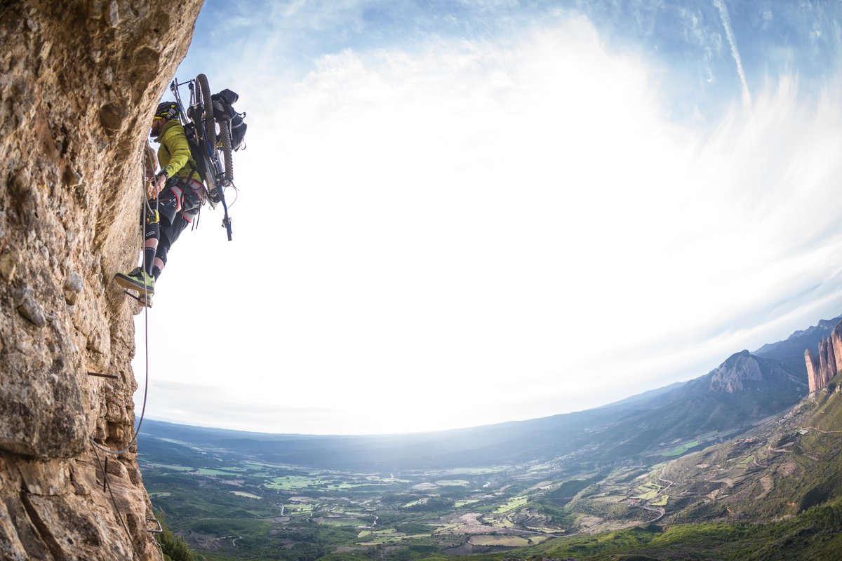 ¿Combinar escalada y mtb es una locura? descúbrelo en este video