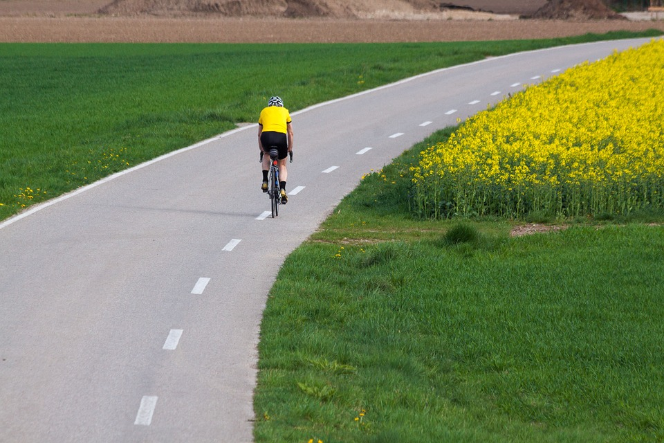rodillas ciclista