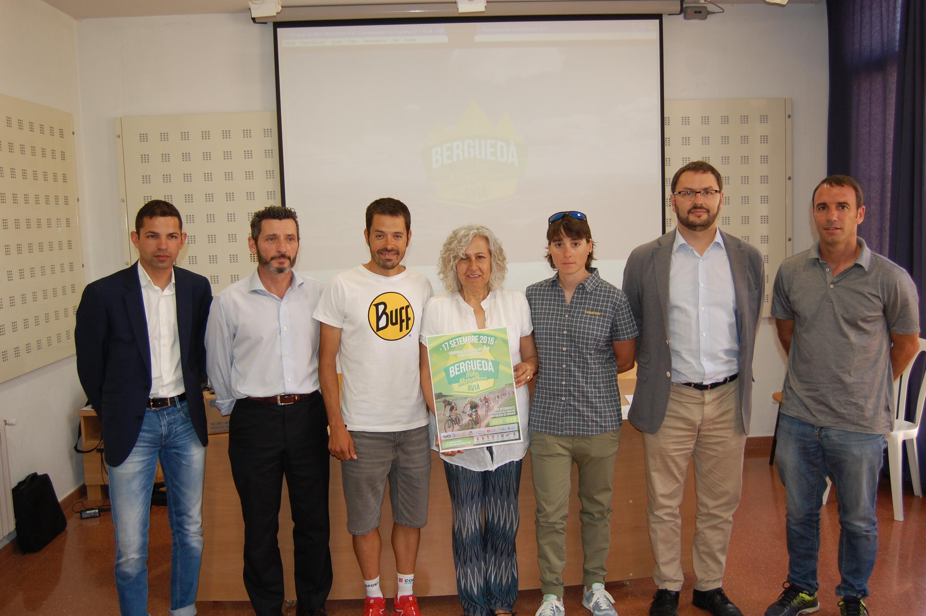 Berguedà Bike Marathon presentacion