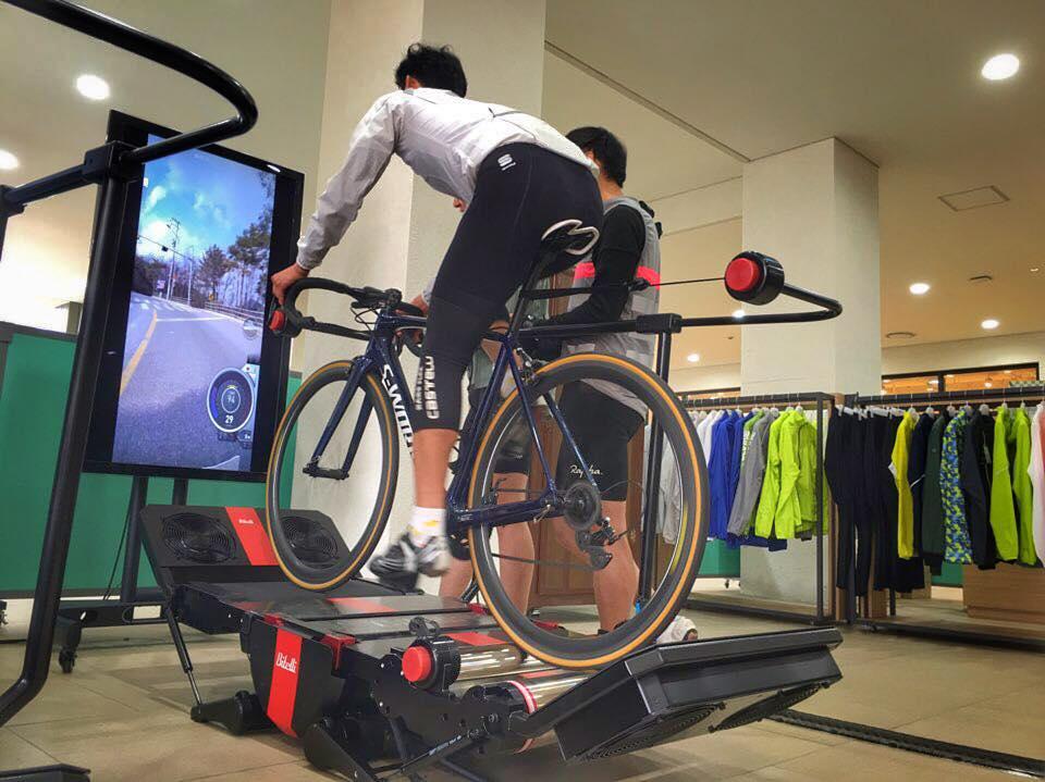 El rodillo de realidad virtual de Bitelli es increíble ¿Ha llegado el futuro del ciclismo?