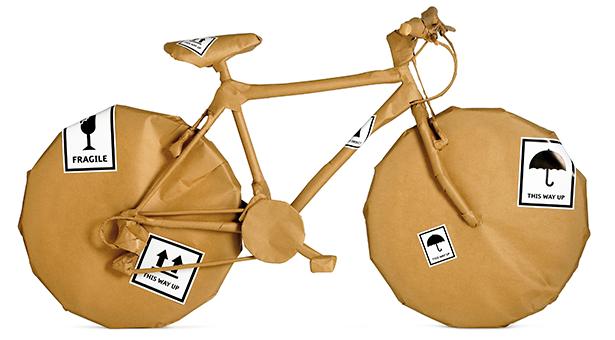 Fácil y muy barato. La mejor manera de empaquetar la bici para enviarla o viajar con ella