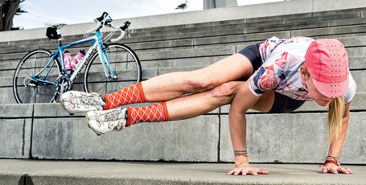 yoga y ciclismo