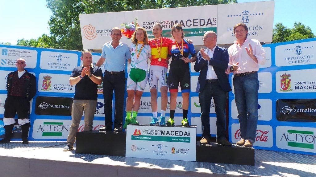 rocio Gramonal campeona elite campeonato españa btt xco 2016