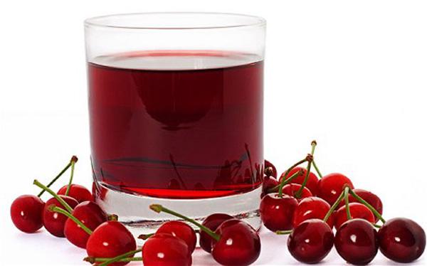 Bebida Zumo de cerezas