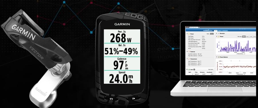 garmin-vector-edge medidor de potencia