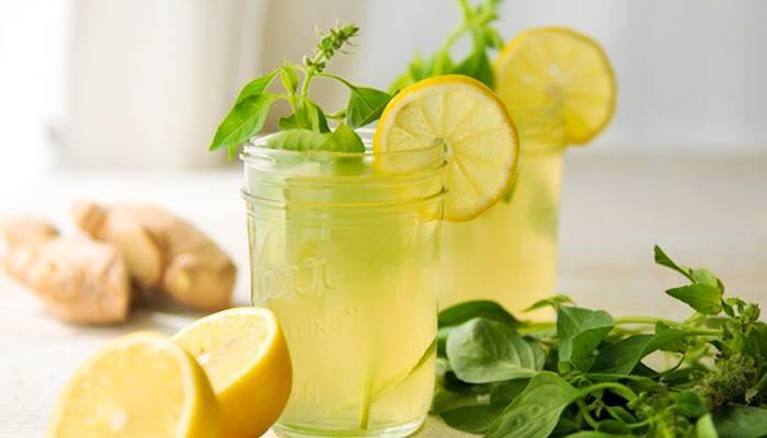 bebida limonada-de-jengibre