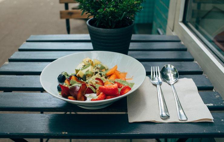 Quinoa desayuno con proteinas