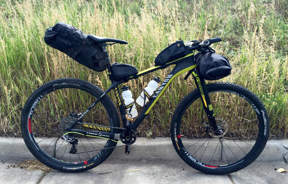 Bikepacking Canyon