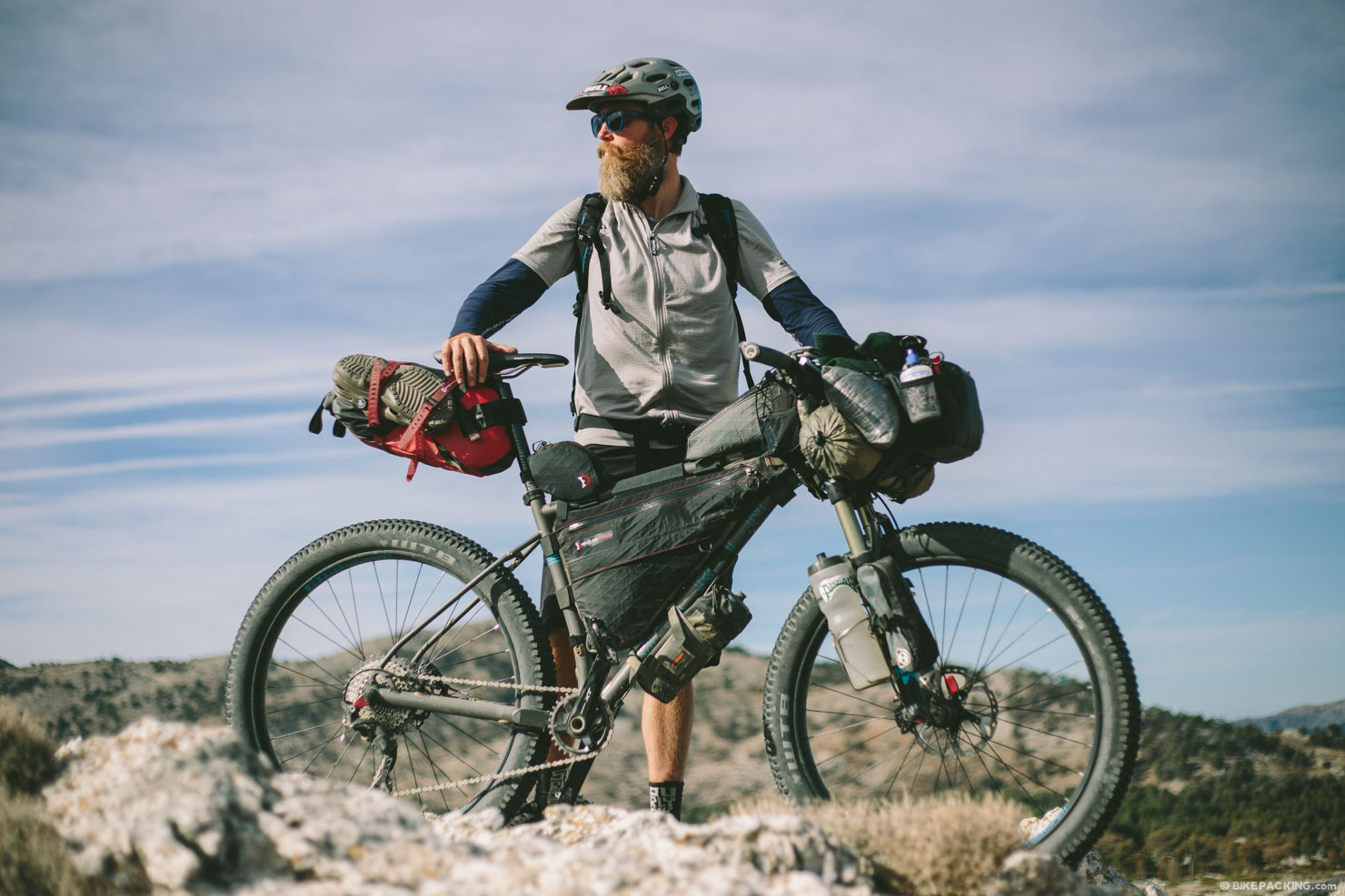 Bikepacking ciclismo