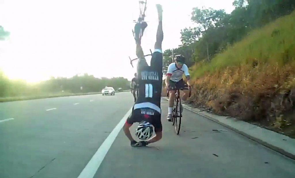 perder el miedo a caerte en bici
