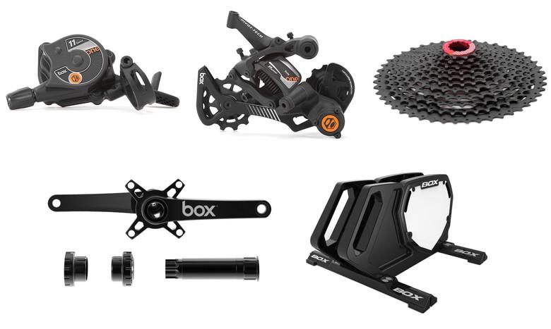 Lista de componentes robados box components
