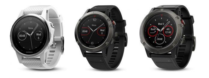 Filtrado el nuevo reloj GPS Fenix 5 de Garmin