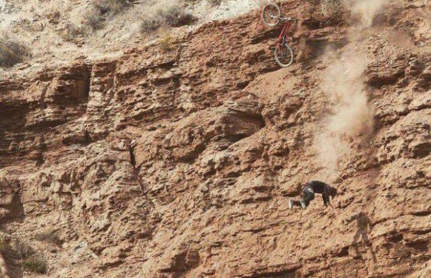¿Es este el peor accidente de mountain bike de la historia?