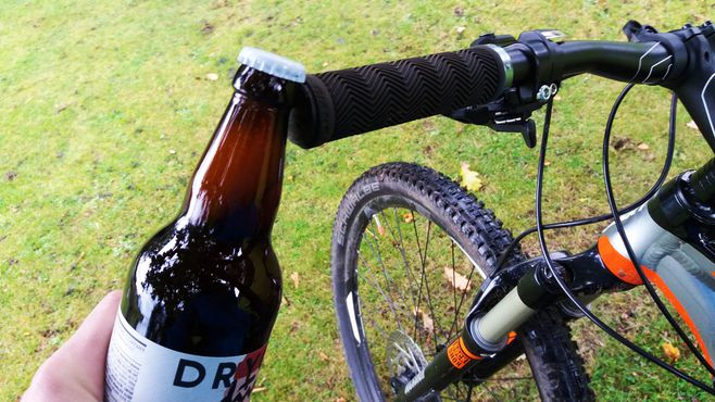 cerveza mountain bike